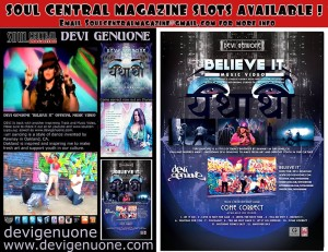 Soul Central Magazine March Spread